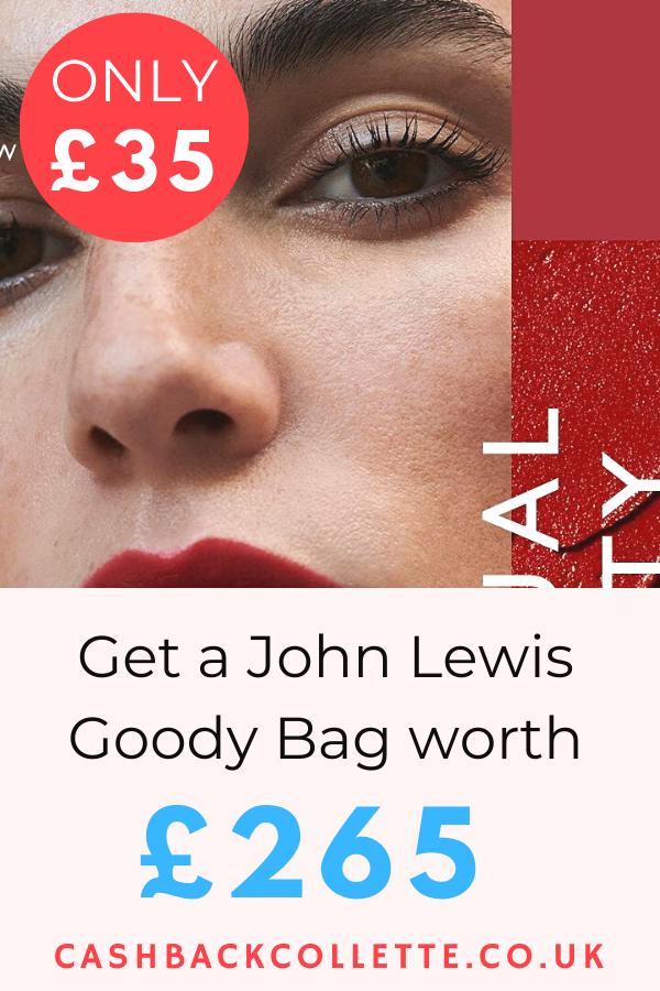 My John Lewis Beauty Goody Bag Just £35
