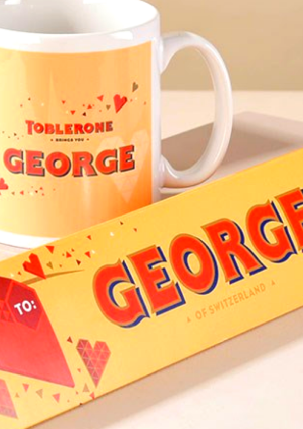 Free Personalised Toblerone – 100 Available!