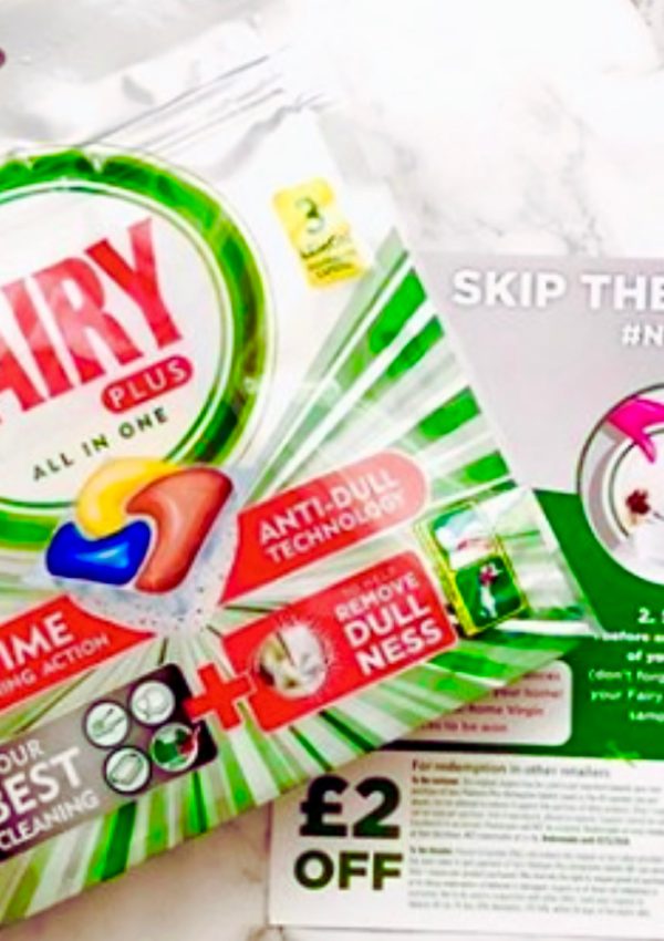 Free Fairy Platinum Dishwasher Tablets – 100,000 Available!
