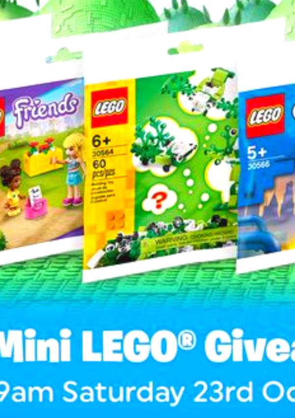 Free Mini LEGO Bag At Smyths Toys
