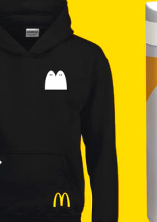 Free McDonald's Hoodie & Water Bottle – 1,500 Available!