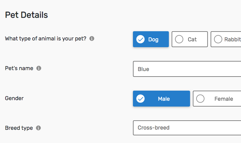 Quidco Compare pet insurance quote