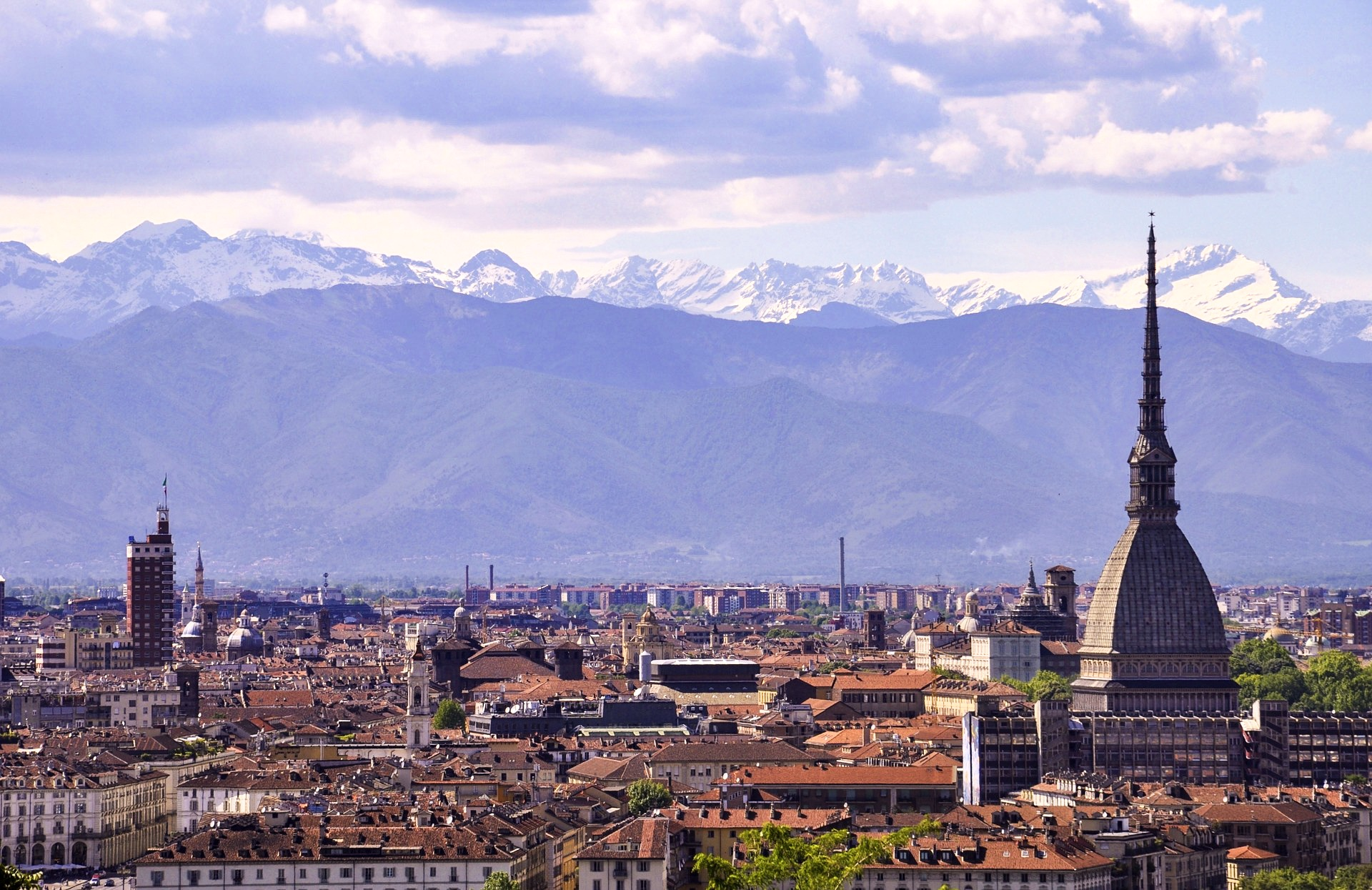 Stock image view of Turin, a great day trip from Milan