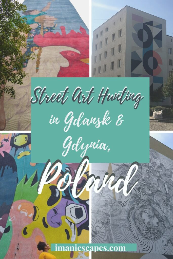 Street art hunting in Gdańsk and Gdynia, Poland