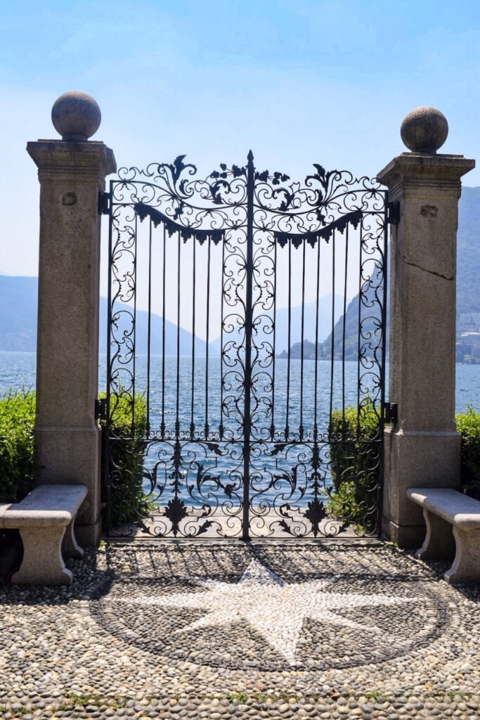 An elaborate gateway to lake Lugano. Lugano Ames a great day trip from Milan.