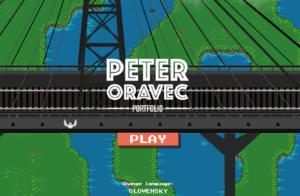 Peter Oravec - CV Game