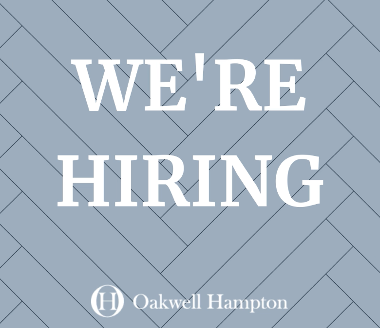Oakwell Hampton - Were HIring