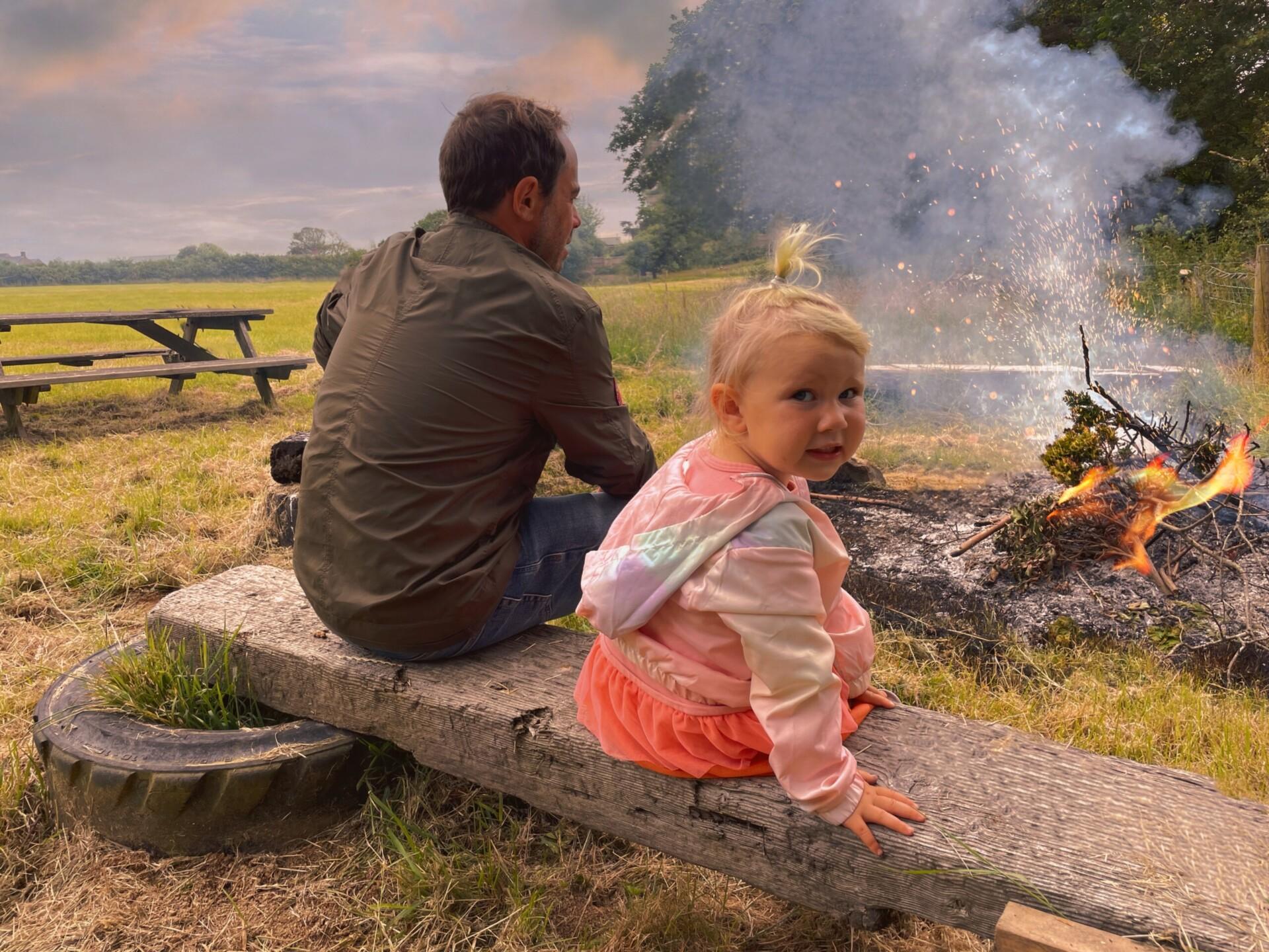Court Farm Holidays Fire Pit