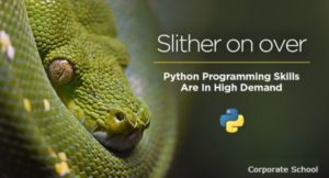 Python Skills are high in Demand - Corporate School