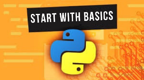 Python programming Language – Start with Basics