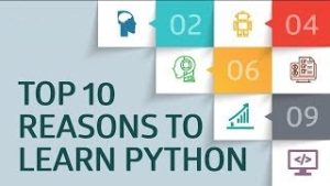 Top 10 Reason to Learn Python-Corporate School