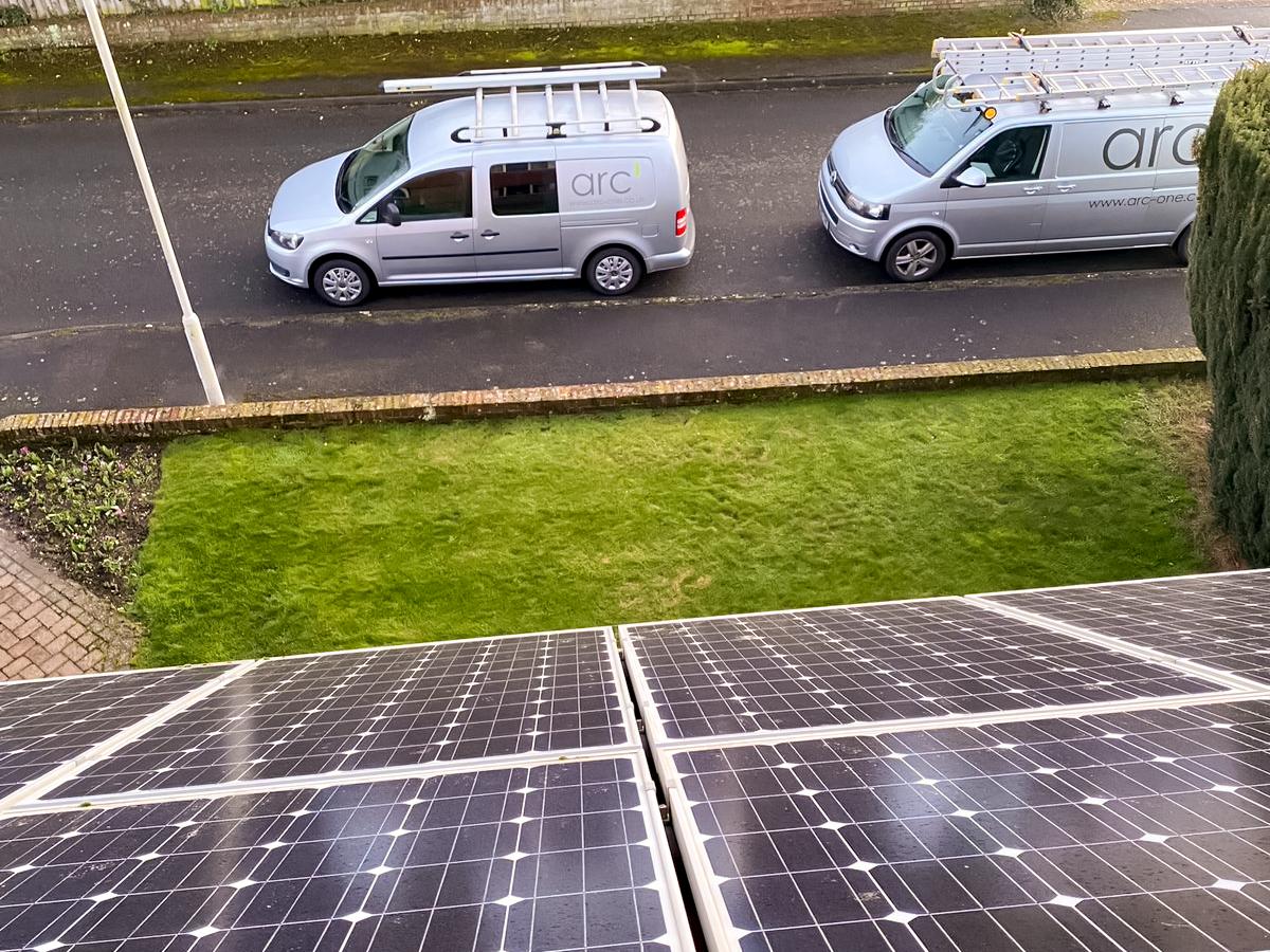 Solar panels Ashford
