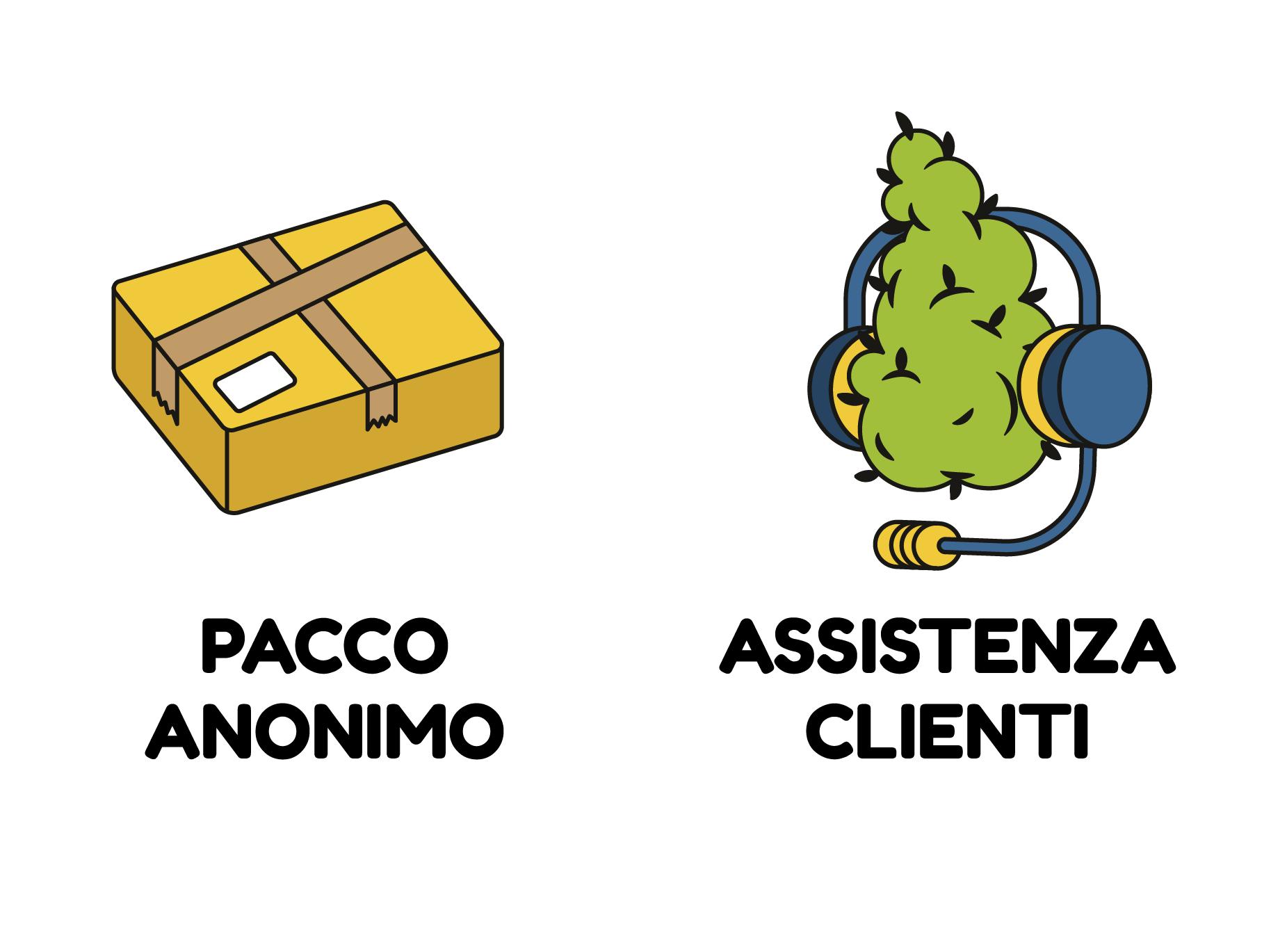 PACCO ANONIMO - ASSISTENZA CLIENTI