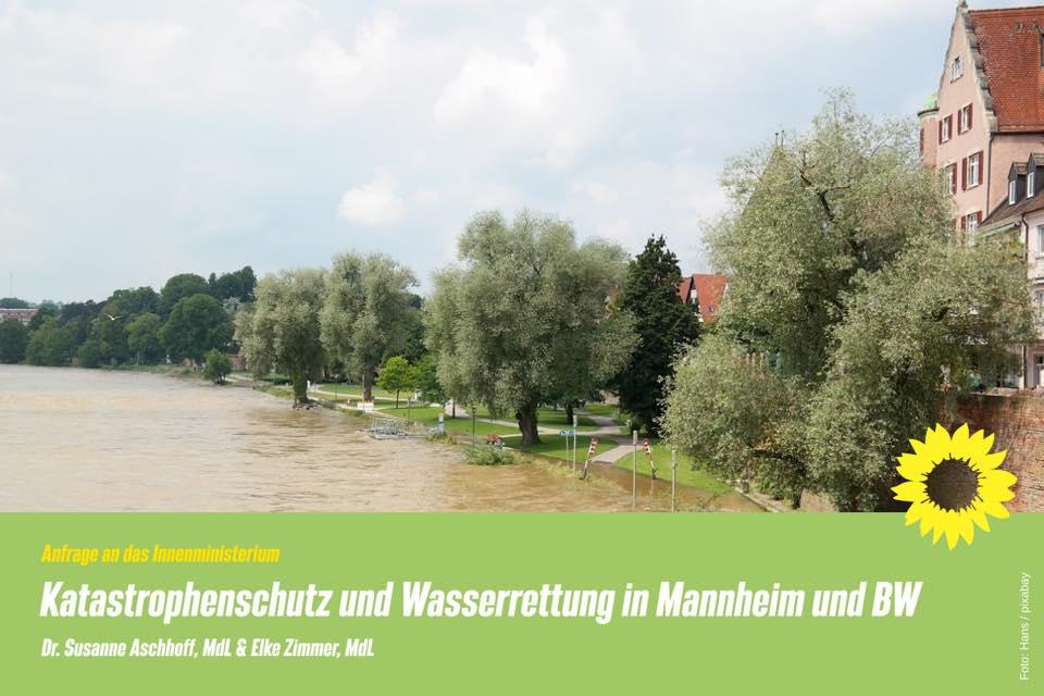 Katastrophenschutz und Wasserrettung in Mannheim und Baden-Württemberg