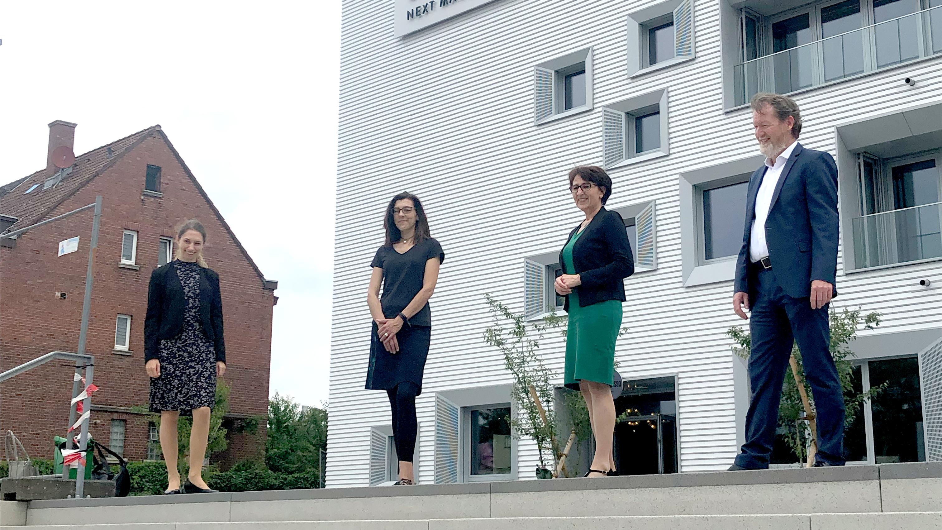 Besuch der Koordinierungsstelle Telemedizin mit Staatssekretärin Dr. Ute Leidig