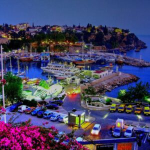 Marina of Antalya, Turkey