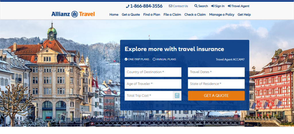 Allianz Travel Insurance - Travel Insurance