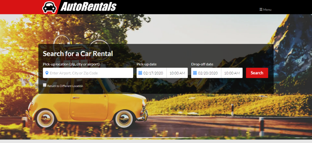 AutoRentals.com- Car Rental Site