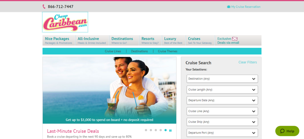 Cheap Caribbean - Cruise Booking Site