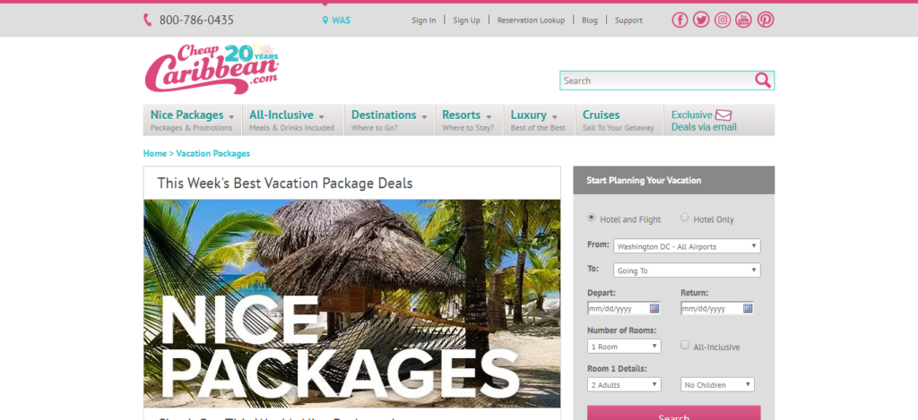 CheapCaribbean - Vacation Packages