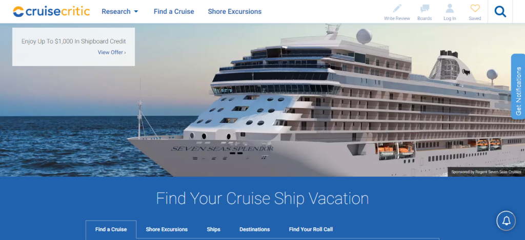 Cruise Critic - Cruise Booking Site
