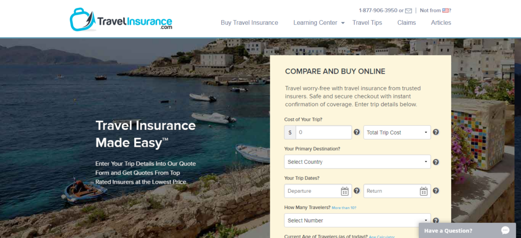 TravelInsurance.com - Travel Insurance