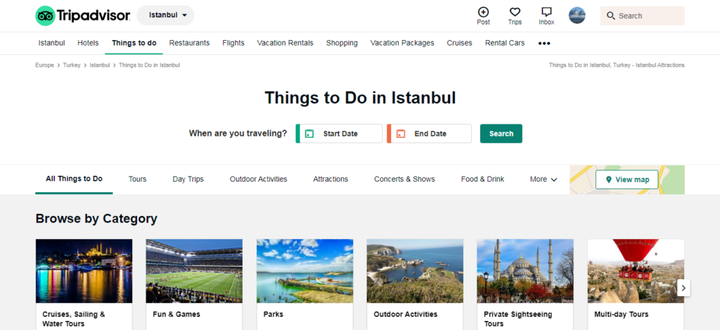 TripAdvisor - Things to Do in Istanbul