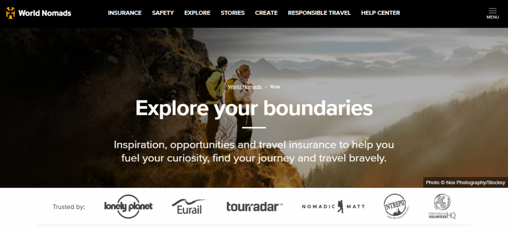 World Nomads - Travel Insurance