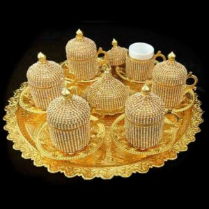 Beautifully Handcrafted Turkish Ottoman Coffee Cup Sets