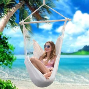 Swinging Hammock Garden Hang Lazy Chair