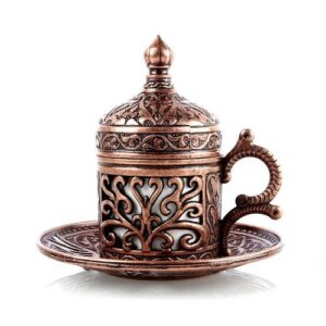 Handcrafted Authentic Design Turkish Coffee Cups