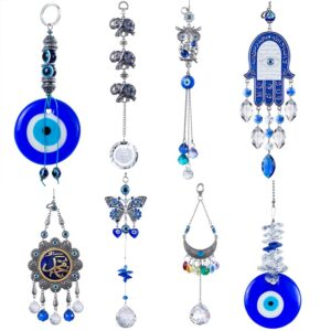 Blue Handmade Turkish Evil Eye Hanging Decoration
