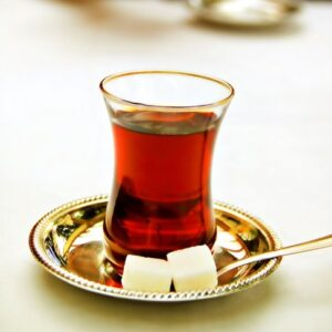 Turkish Black Tea Cups Set