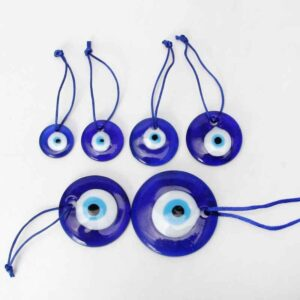 Large Turkish Blue Evil Eye Mystic Protection Amulet