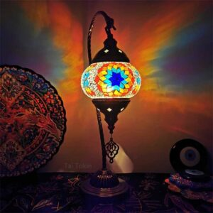 Turkish Mediterranean Retro Mosaic Lamps