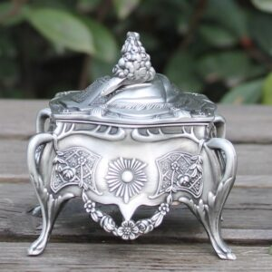 Wedding Gift Metal Jewelry Box