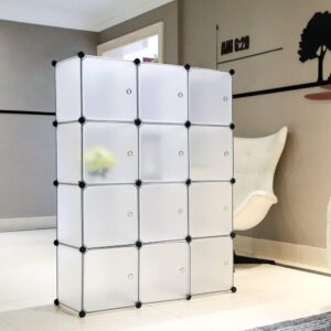 Portable Interlocking Wardrobe Cabinet