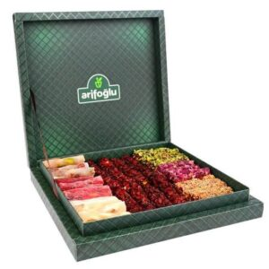 Authentic Turkish Delight Mixed Flavor