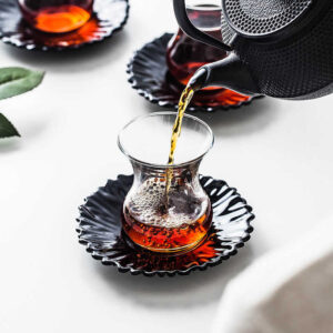 kitchen Turkish Glass Tea Cup  Set