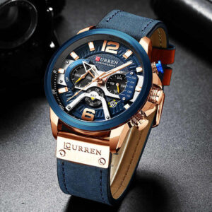 Casual Sport Watches for Men Leather