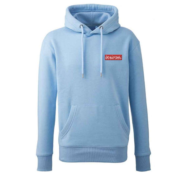 Unconventionall Baby Blue Hoodie