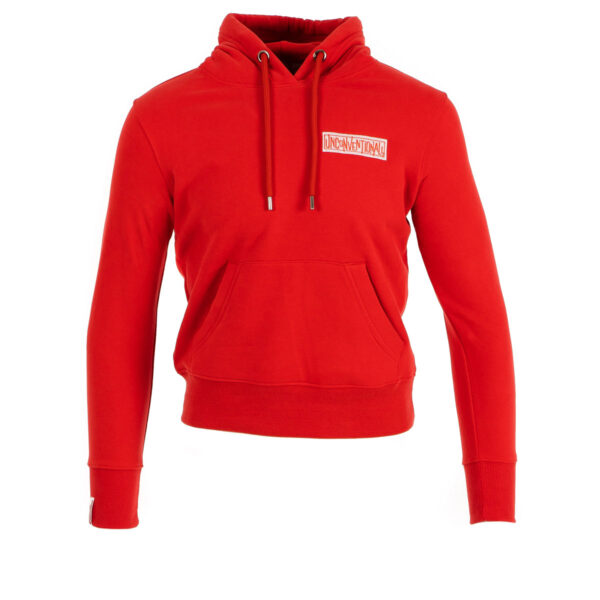 Womens Unconventionall Hoodie - Red