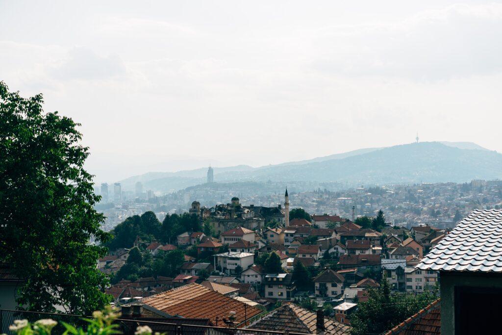 Sarajevo will be close for Digital nomads in Croatia