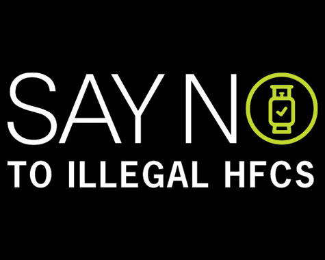 Say No to Illegal Refrigerants