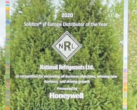 NRL Awarded Honeywell Solstice yf 2020