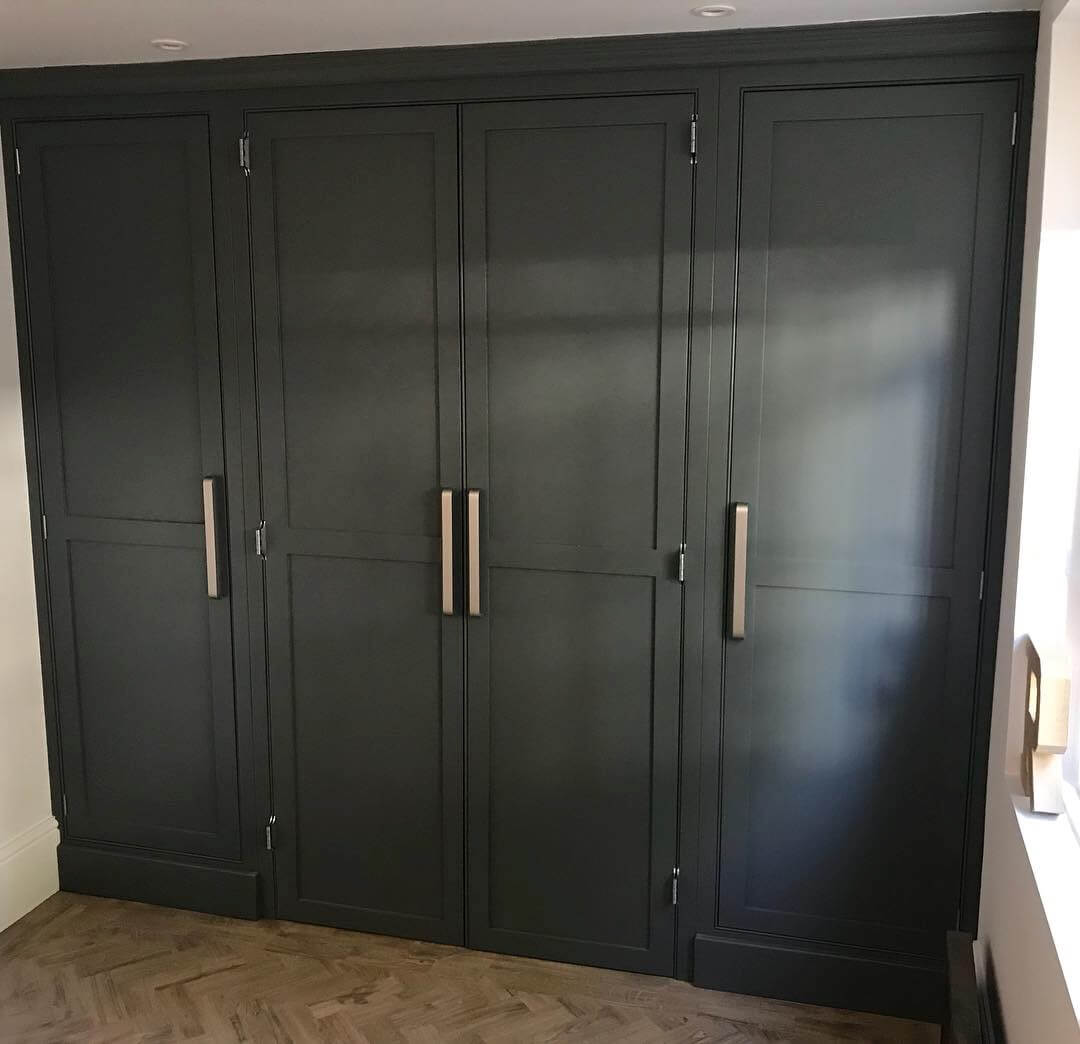 Bespoke Fitted storage, fitted storage, home office, office, desk, bespoke office, joinery, carpentry, leamington sap, Warwick
