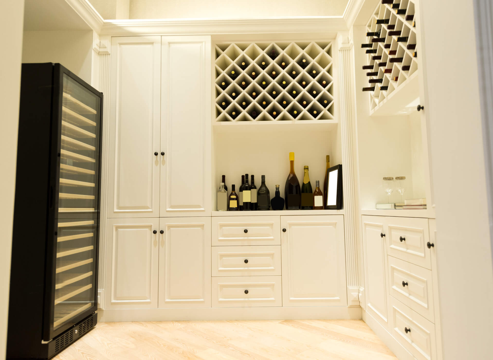 Bespoke wine cellar, wine rack, wine store, Bespoke furniture, Elegant Bespoke Living