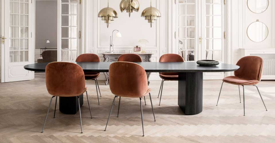 Dinning Chairs, Dining Table, Bespoke Furniture, Bespoke dinning table, Elegant Bespoke Living