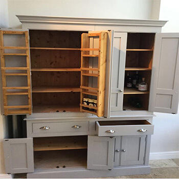 Bespoke Larders, Larders, Kitchen Larders, Kitchen Furniture, Elegant Bespoke Living, Larder