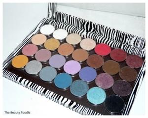 Makeup Geek Eyeshadows and Z-Palette